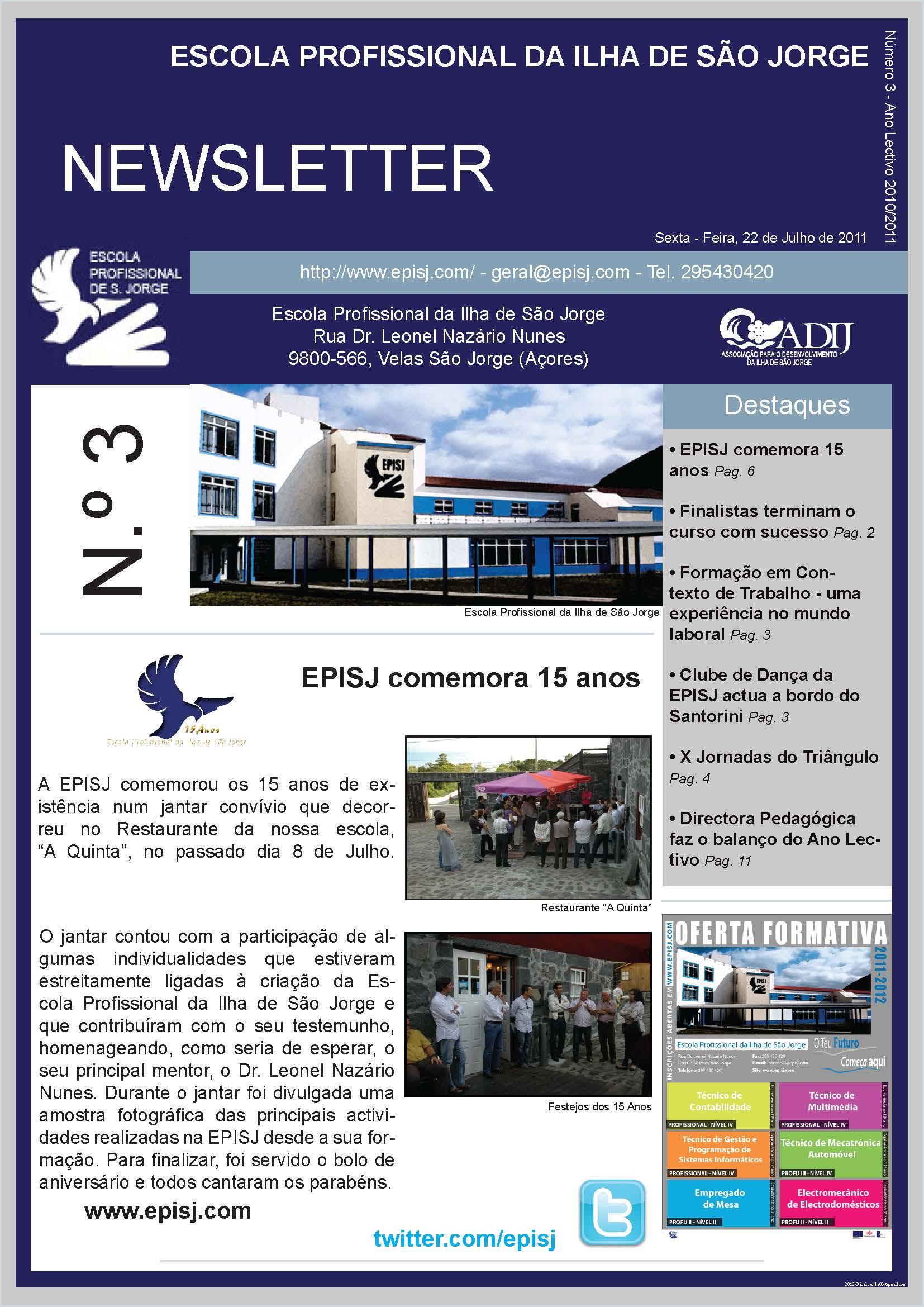 Edição Julho 2011