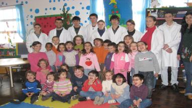 Curso de Pastelaria visita a pré-primária